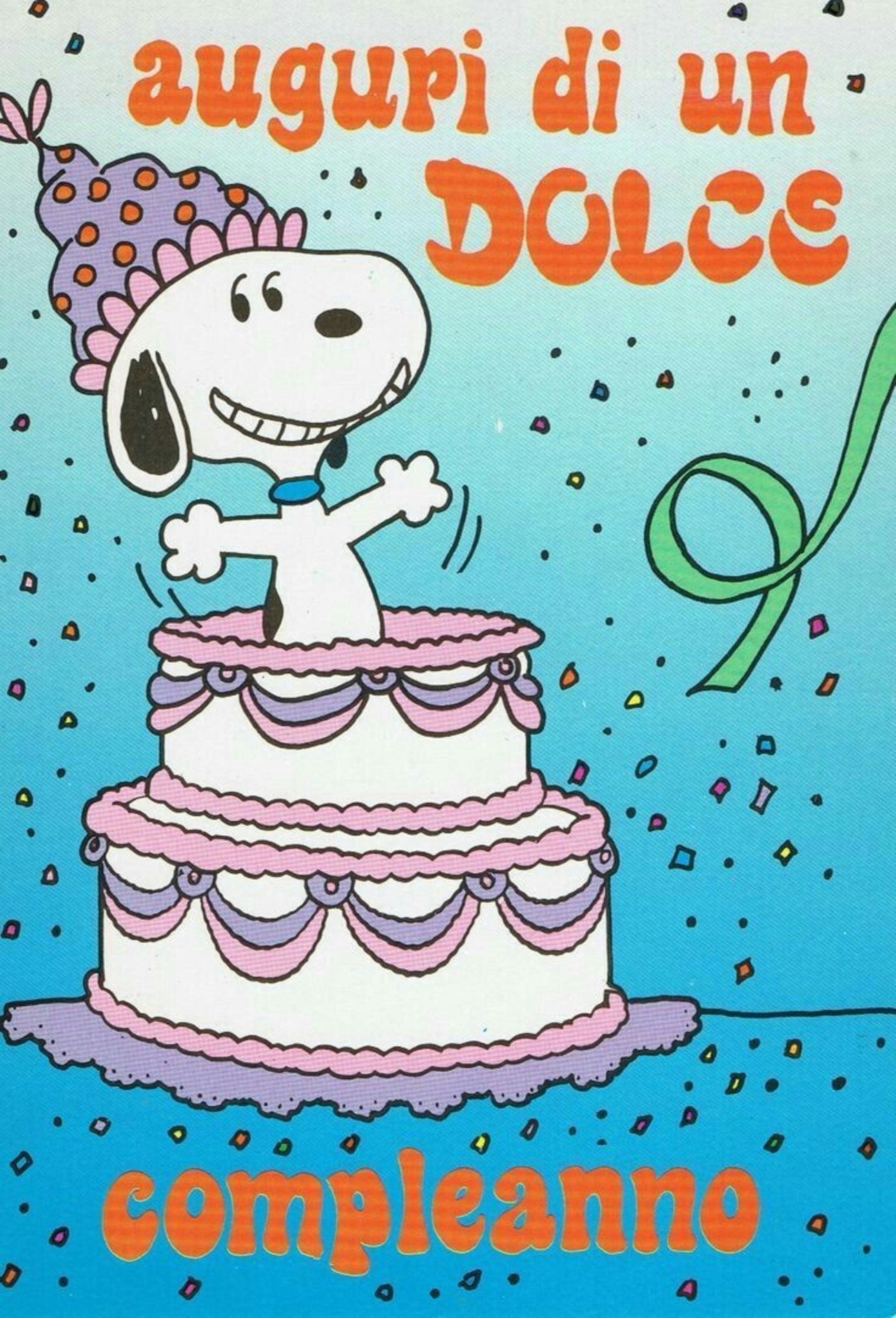 Buon Compleanno Auguri Immagini Belle Con Snoopy 160 Buongiorno
