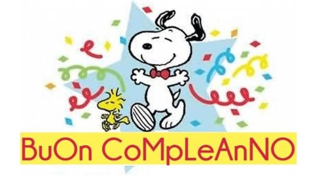 Buon Compleanno Snoopy 297 Buongiorno Immagini It