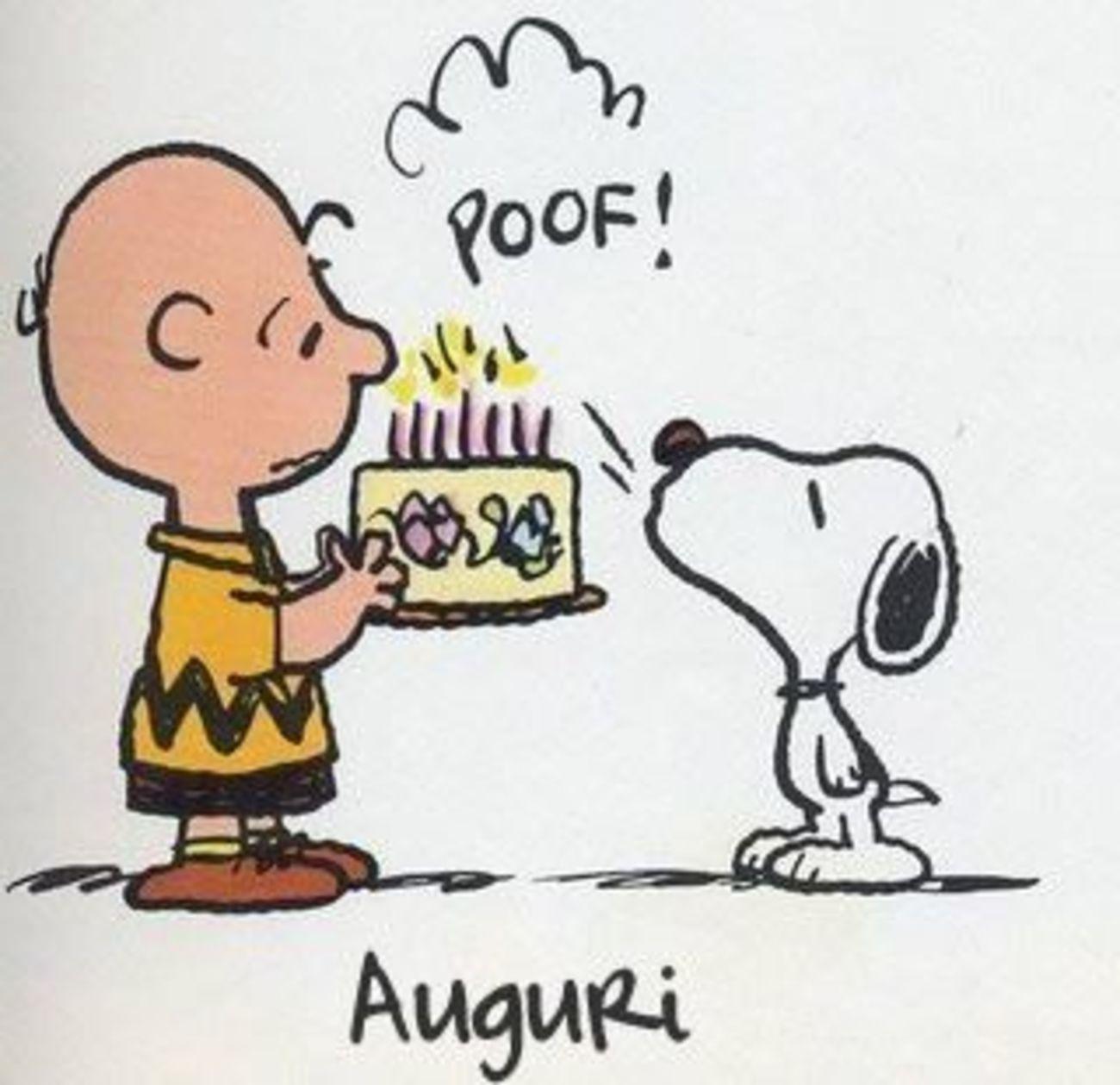 Buon Compleanno Snoopy 92 Buongiorno Immagini It