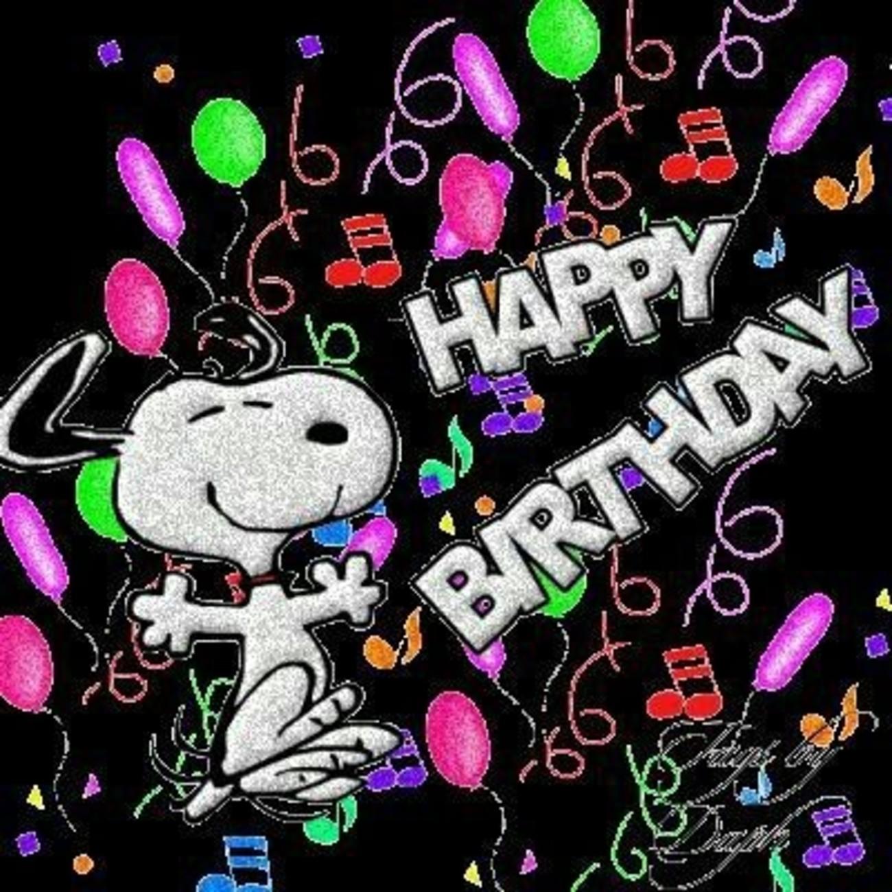 Buon Compleanno Con Snoopy In Inglese 322 Buongiorno Immagini It