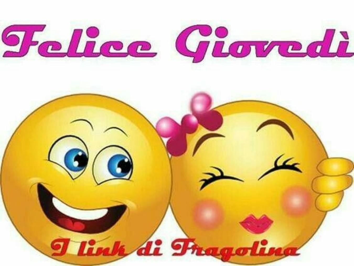 Buon Giovedì Immagini Con Le Emoticons 125 Buongiorno