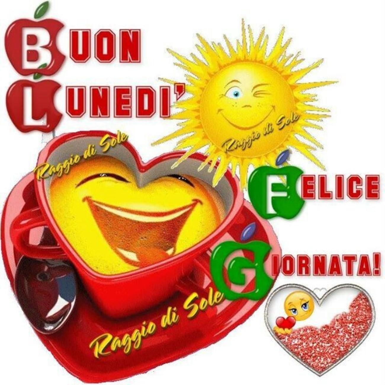 Buon Lunedì Felice Giornata 180 Buongiorno Immagini It