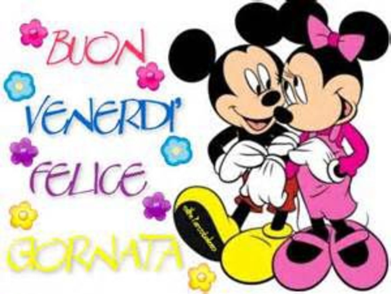 Buon Venerdì Felice Giornata Disney Buongiorno Immagini It