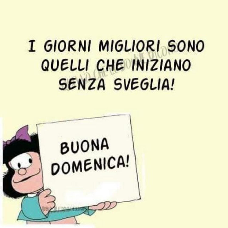 Buona Domenica Vignette Mafalda Buongiorno Immagini It