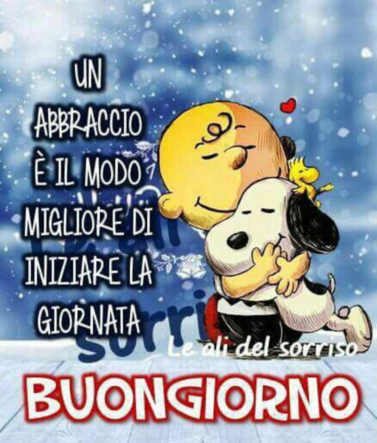 Buona Giornata Inverno Snoopy Buongiorno Immagini It