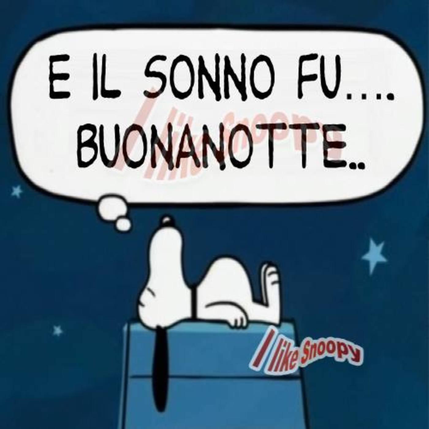 Buonanotte Divertente Con Snoopy 324 Buongiorno Immagini It