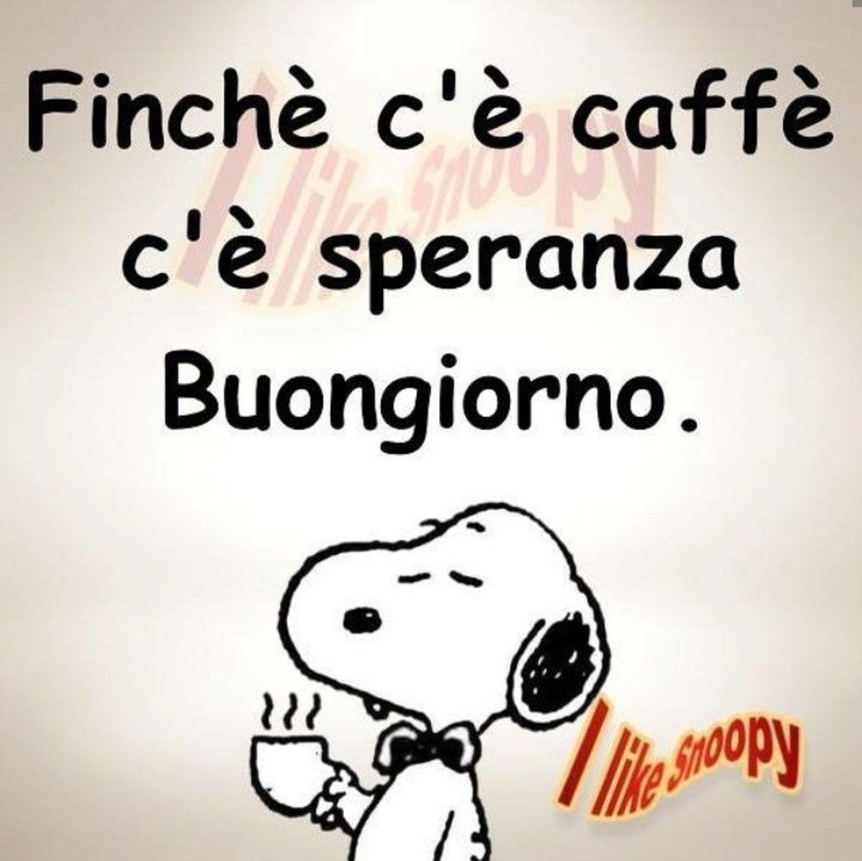 Buongiorno Snoopy bellissime immagini 20