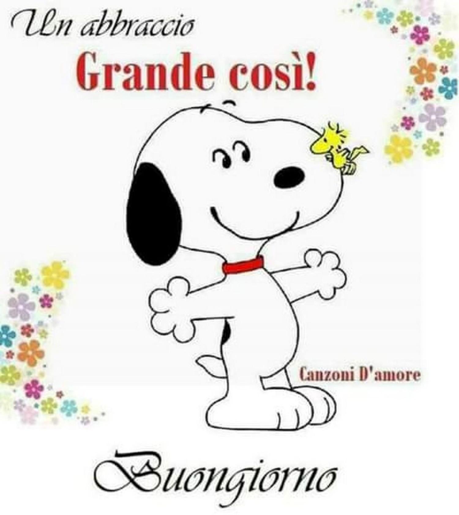 Buongiorno Snoopy immagini 42