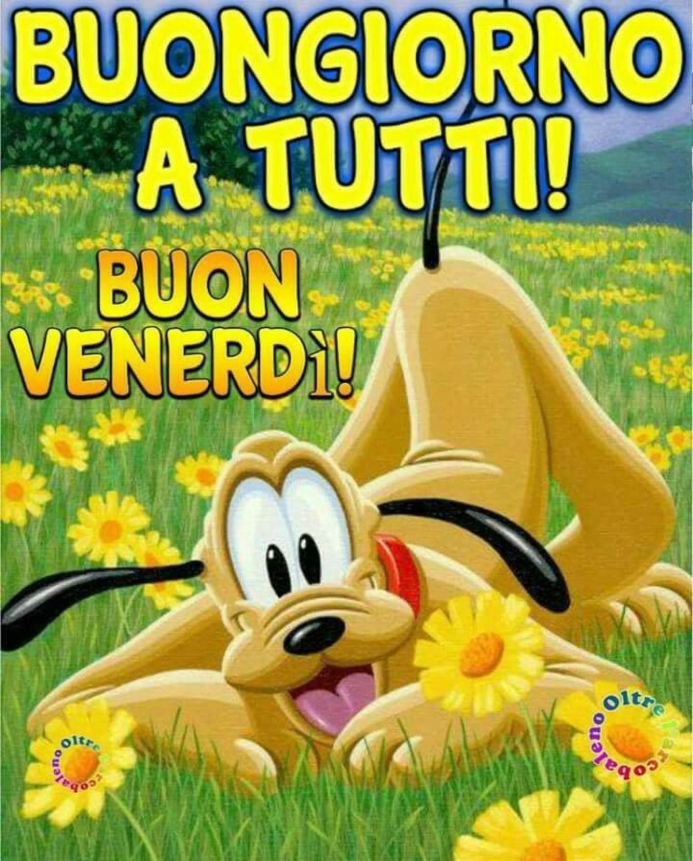 Buongiorno A Tutti Buon Venerdì Walt Disney Buongiorno