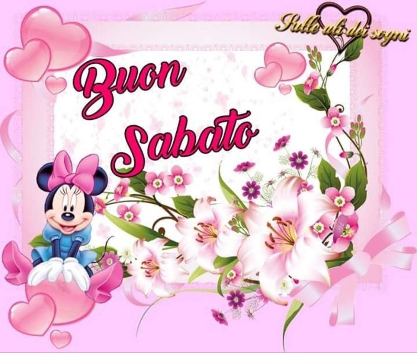 Buongiorno e Buon Sabato WhatsApp gratis 83