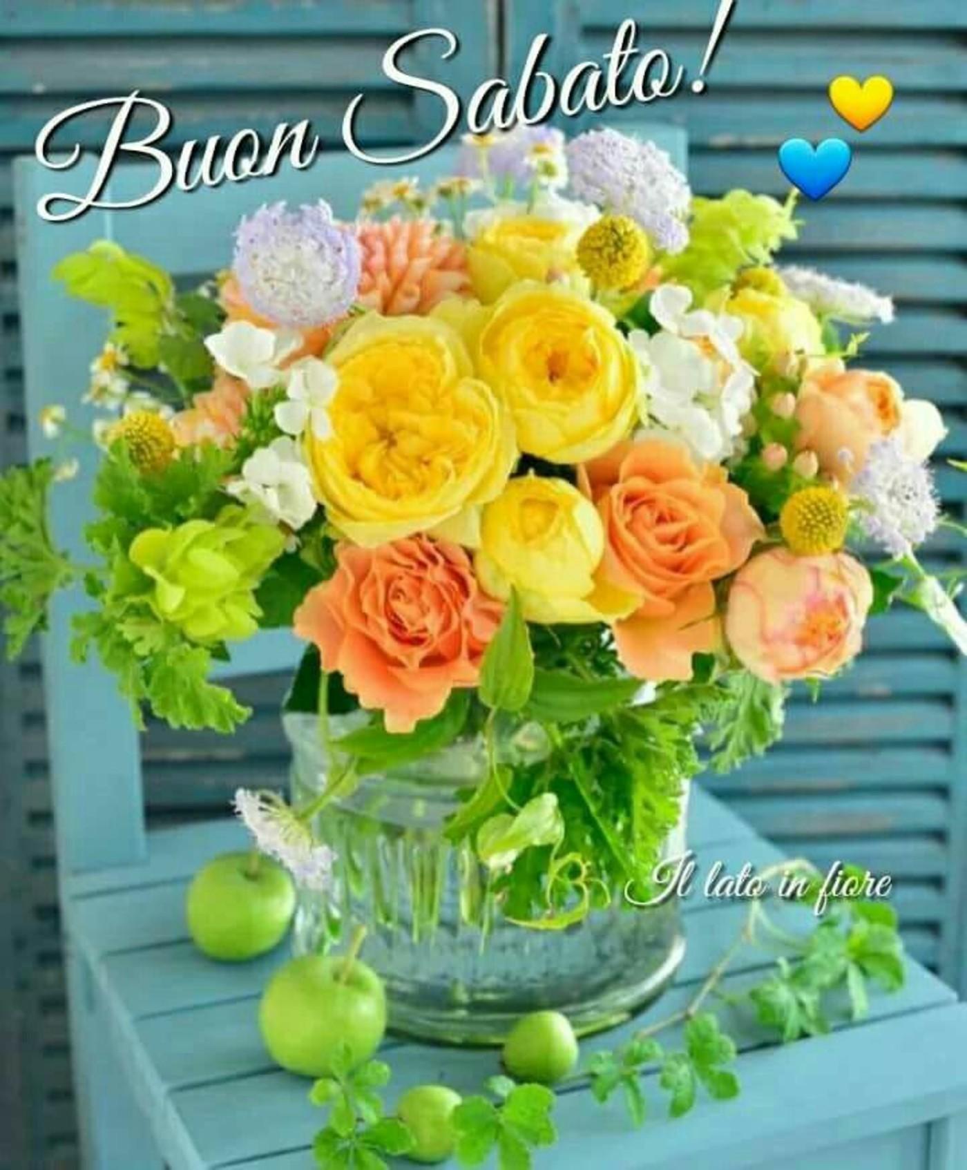 Buongiorno e Buon Sabato WhatsApp gratis da condividere 94