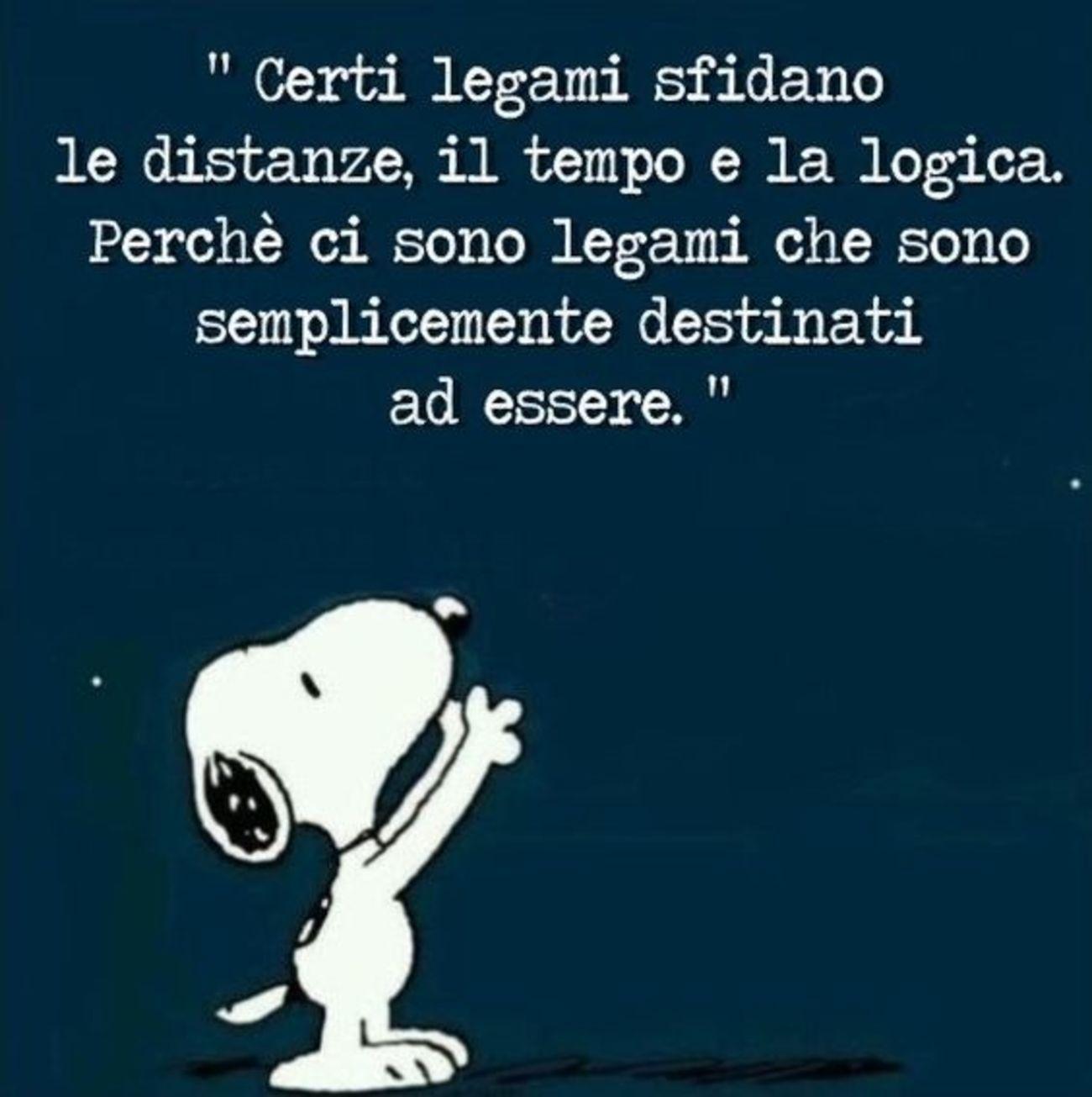 Frasi Vignette Con Snoopy Buongiorno Immagini It