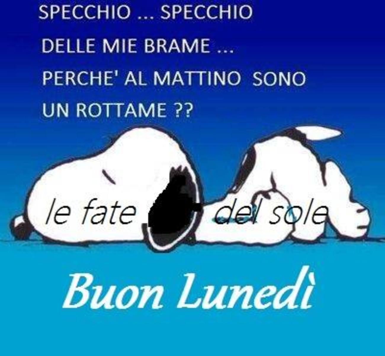 Snoopy foto di Buon Lunedì 181