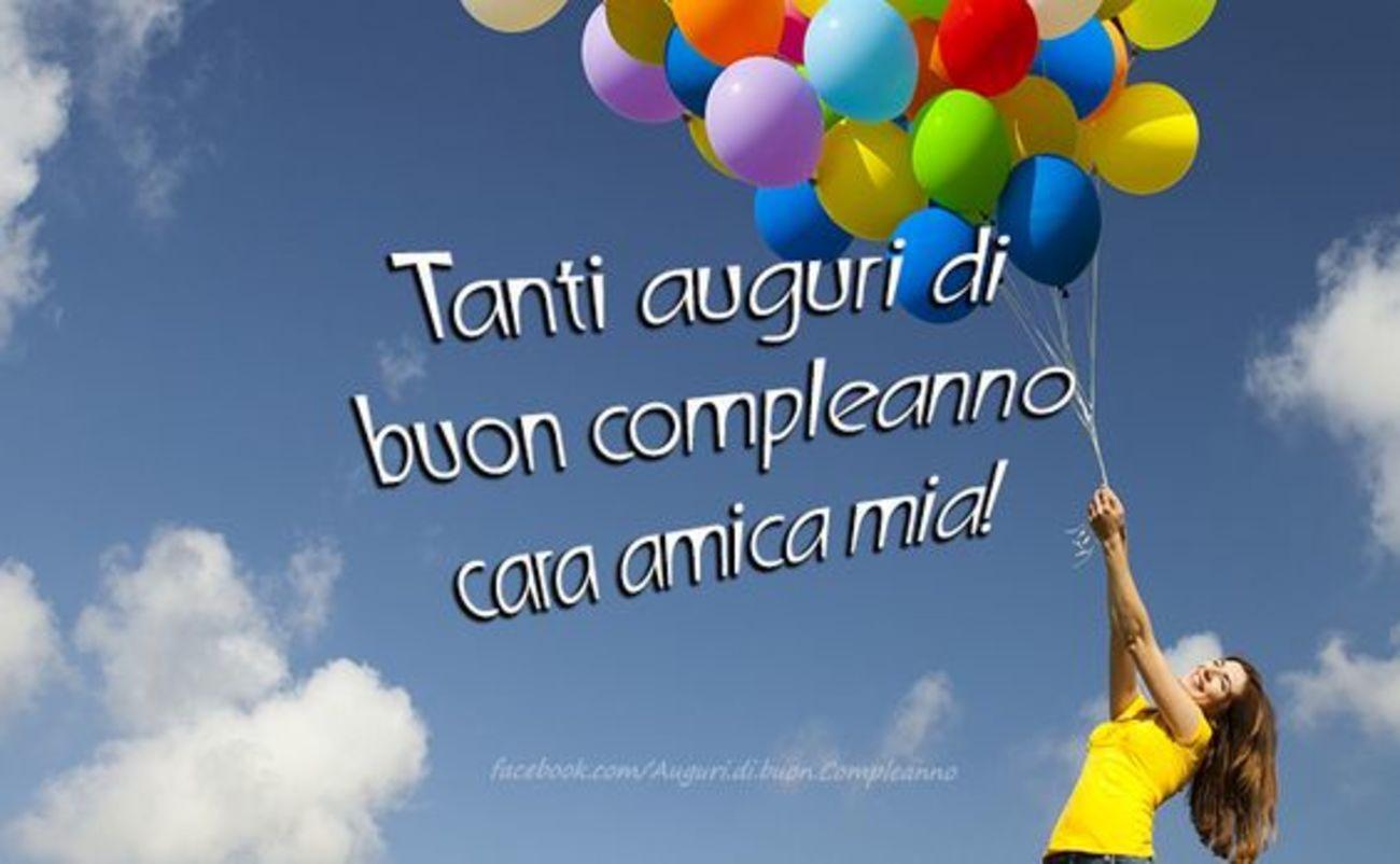 Tanti auguri di Buon Compleanno cara amica mia 25