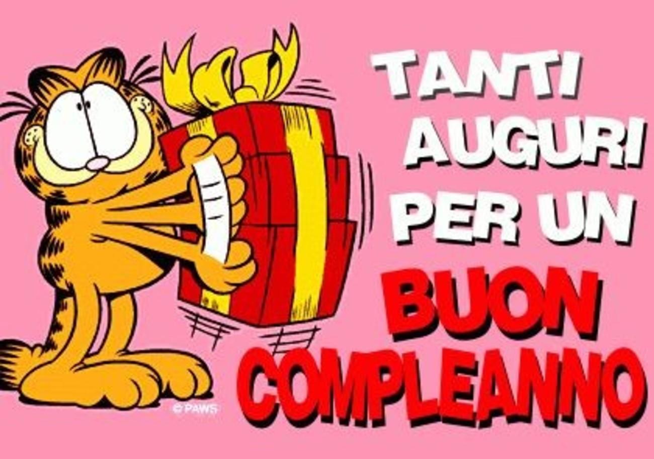 Tanti auguri di Buon Compleanno con Garfield 375