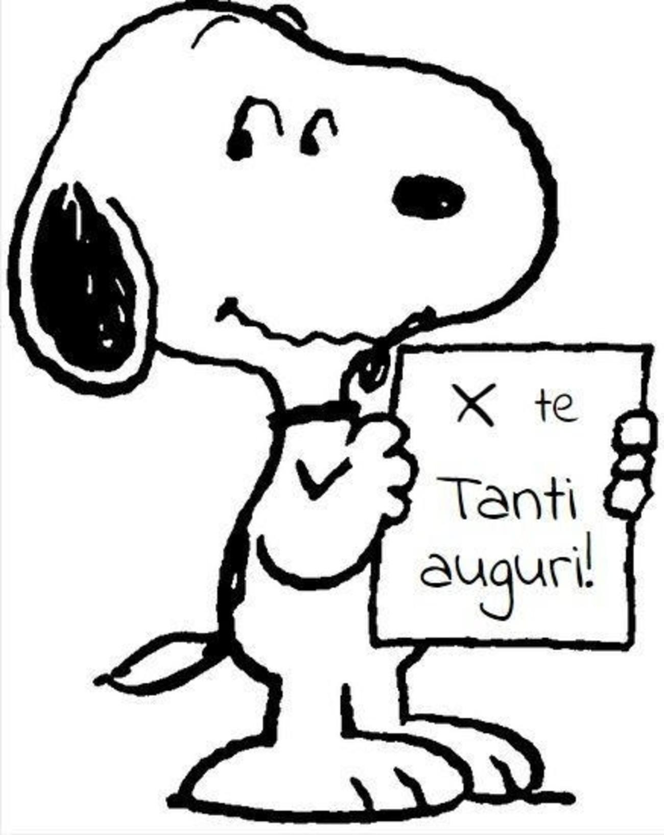 X te Tanti Auguri da Snoopy 284