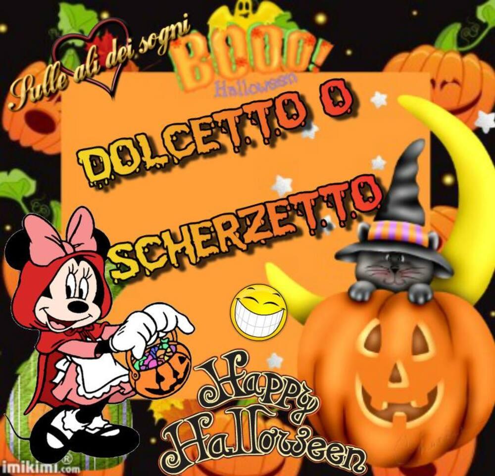 Dolcetto o Scherzetto Happy Halloween