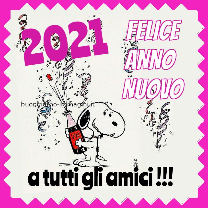 2021 Felice Anno Nuovo a tutti gli amici